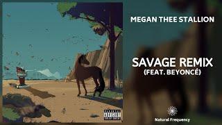 Megan Thee Stallion - Savage Remix (feat. Beyoncé) (432Hz)