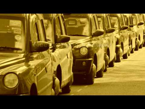 London Black Cabs - Best of (Benny Hill theme)
