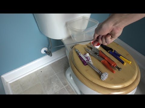 KORKY THE BEST TOILET KIT EVER??! How To Fix Your Leaky Running Toilet!