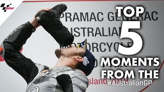 2019 #AustralianGP Top 5 Moments