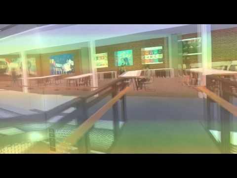Virtual reality simulation of upcoming Funan mall