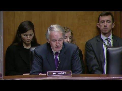 Senator Markey on U.S. Policy in Central Africa - Feb. 10, 2016