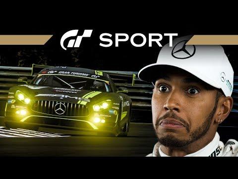 Schneller als Lewis Hamilton? 1.56,854 zu schlagen – GRAN TURISMO SPORT | Livestream German