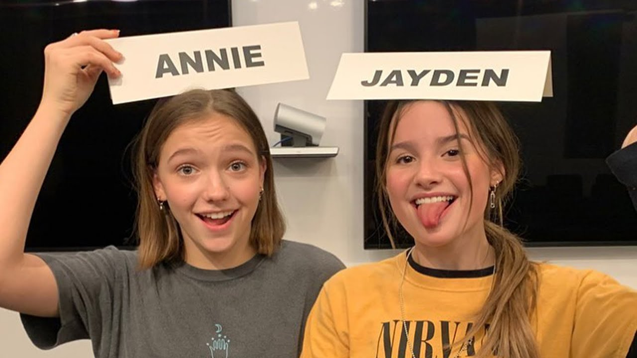 Annie Leblanc and Jayden Bartels Back On Set Of 'Side Hustle'! | Hollywire