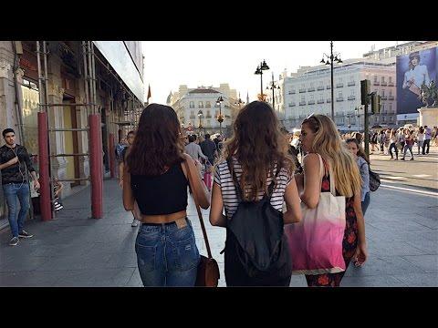 BEST CITY IN SPAIN! - Barcelona, Madrid Travel Vlog