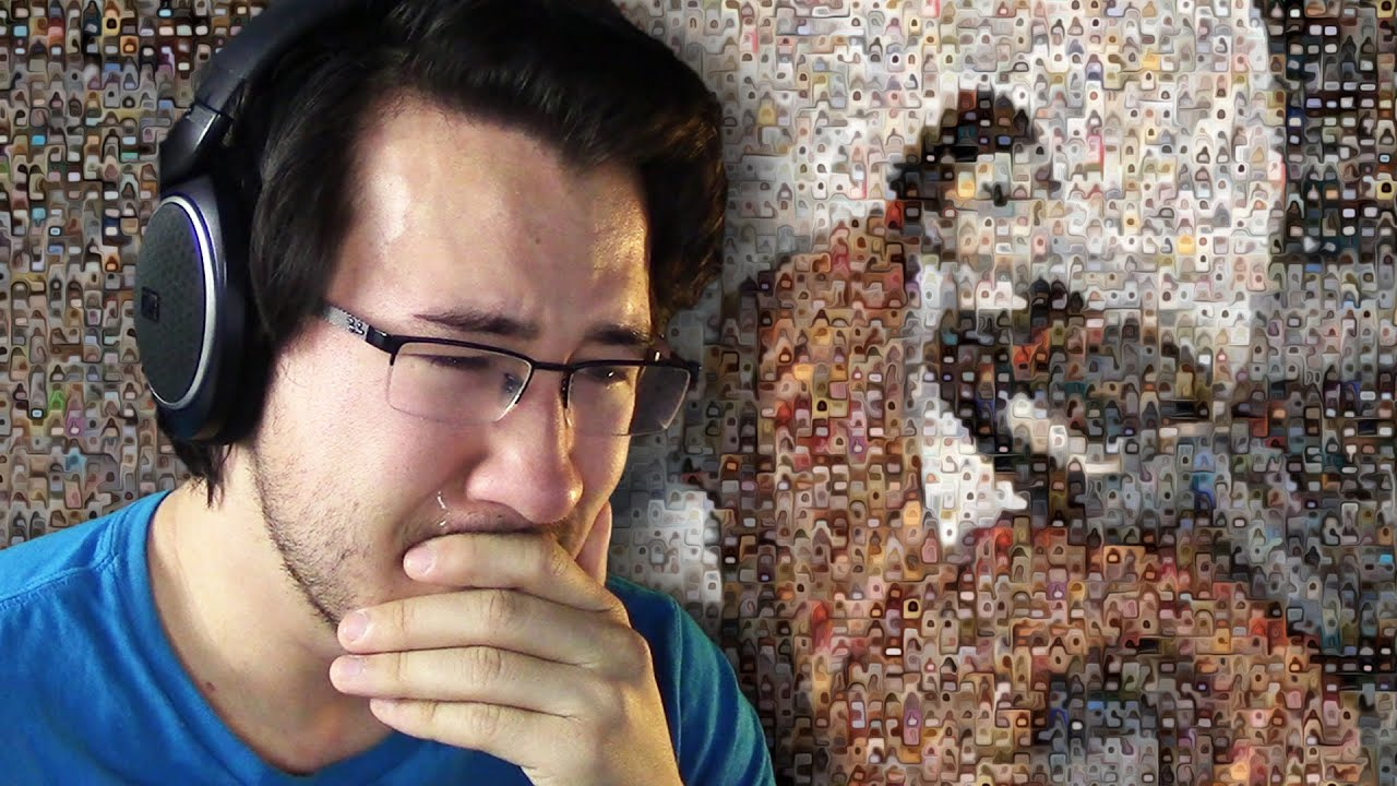 Markiplier reacts to 6 million fan music video youtube