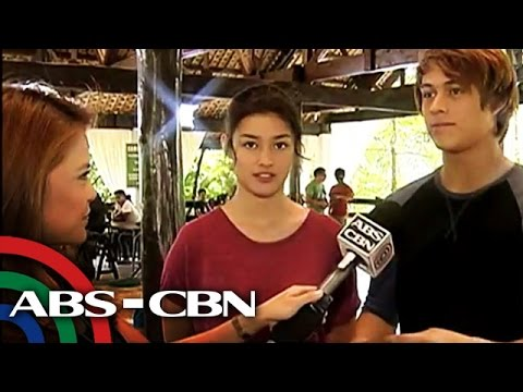 'Tara, Grets' visits set of 'Forevermore'