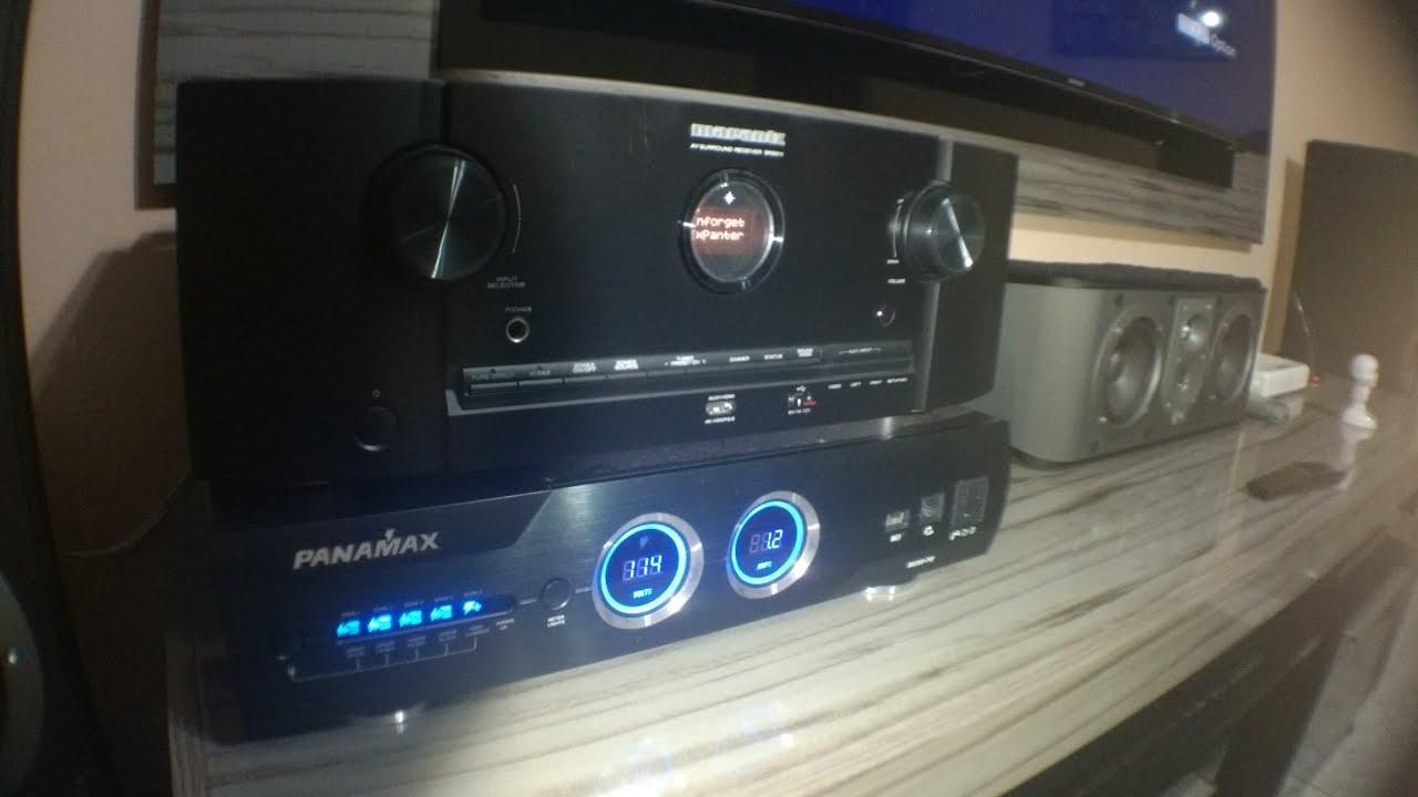Home theater, Receiver Marantz SR5012, caixas JBL linha ES  Áudio #4 pink  panther themer