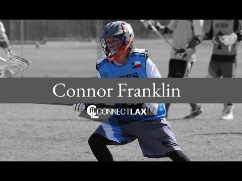 Connor Franklin Lacrosse Highlights   TX 2022   Def, LSM