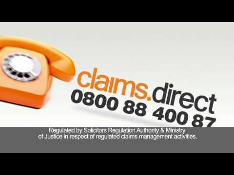 Personal Injury Compensation TV Commercial | Claims Direct | 2011