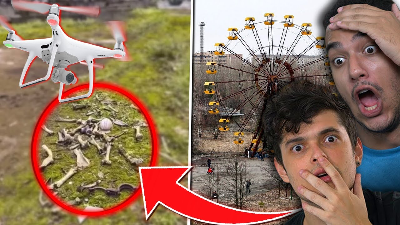 DRONE SOBREVOA CHERNOBYL E ENCONTRA ALGO ASSUSTADOR !!