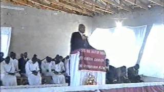 The Late Rev PM Sibanda ( The Last Sermon )