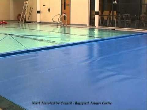 Commercial Swimming Pool Cover and Reel/Roller Systems