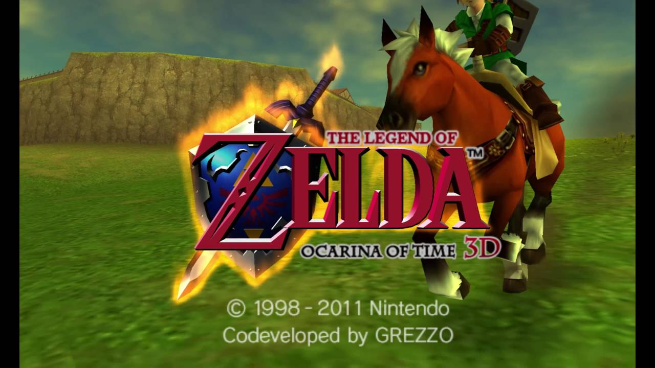 Zelda: Ocarina of Time 3DS (on Citra) OPENING True 1080p HD