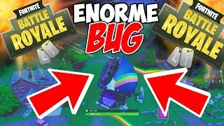 BUG ENORME SUR FORTNITE BATTLE ROYAL !!!