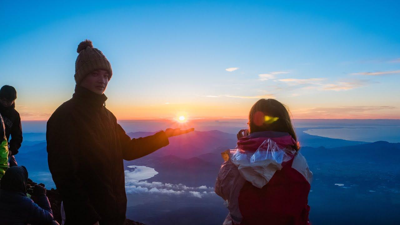 Kinh nghiệm leo núi Phú Sĩ 18 08 2018