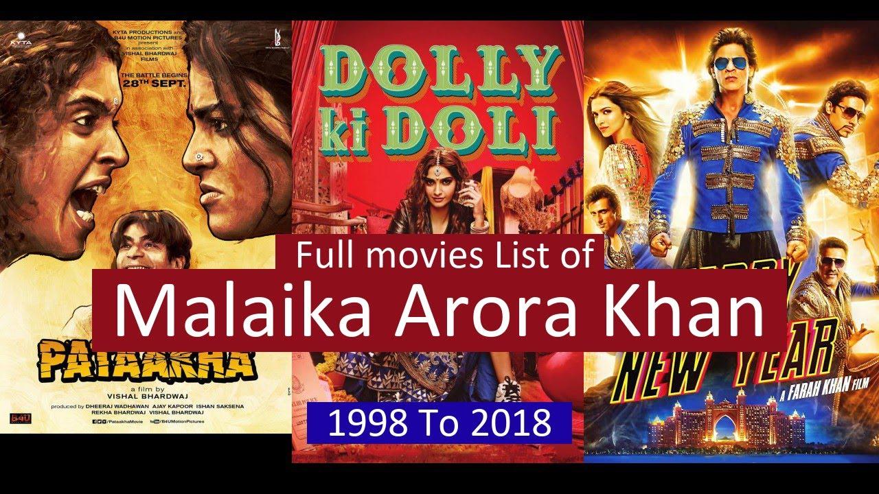 Download Malaika Arora Khan Full Movies List | All Movies of Malaika Arora Khan