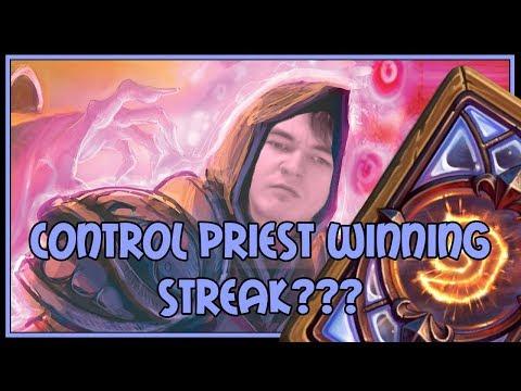 Hearthstone: Control priest winning streak???