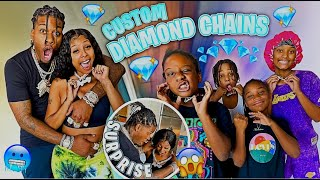 Surprising My Whole Family With Custom Diamond Chains And School Supplies!