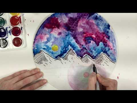 Landscape Paintings for Kids