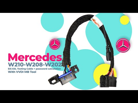 Mercedes W210-W208-W202 EIS ESL Testing Cable/password calculation withVVDI MB Tool