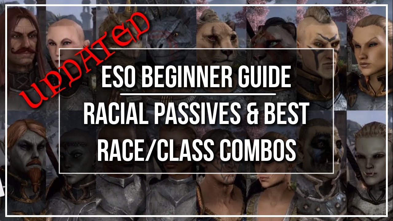 ESO Beginner Guide - Racial Passives and Best Race to Play