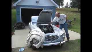 1960 Austin-Healey start up 1