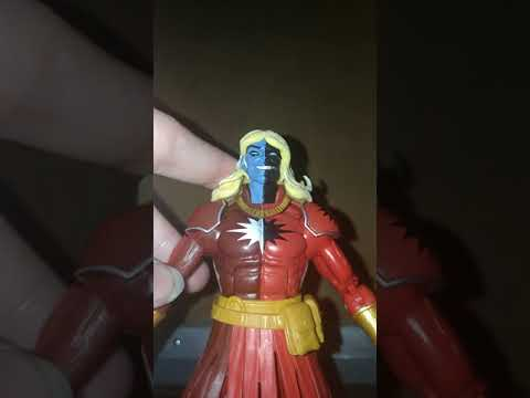 MARVEL LEGENDS SERIES AVENGERS INFINITY WAR MALEKITH CULL OBSIDIAN BAF WAVE ACTION FIGURE REVIEW