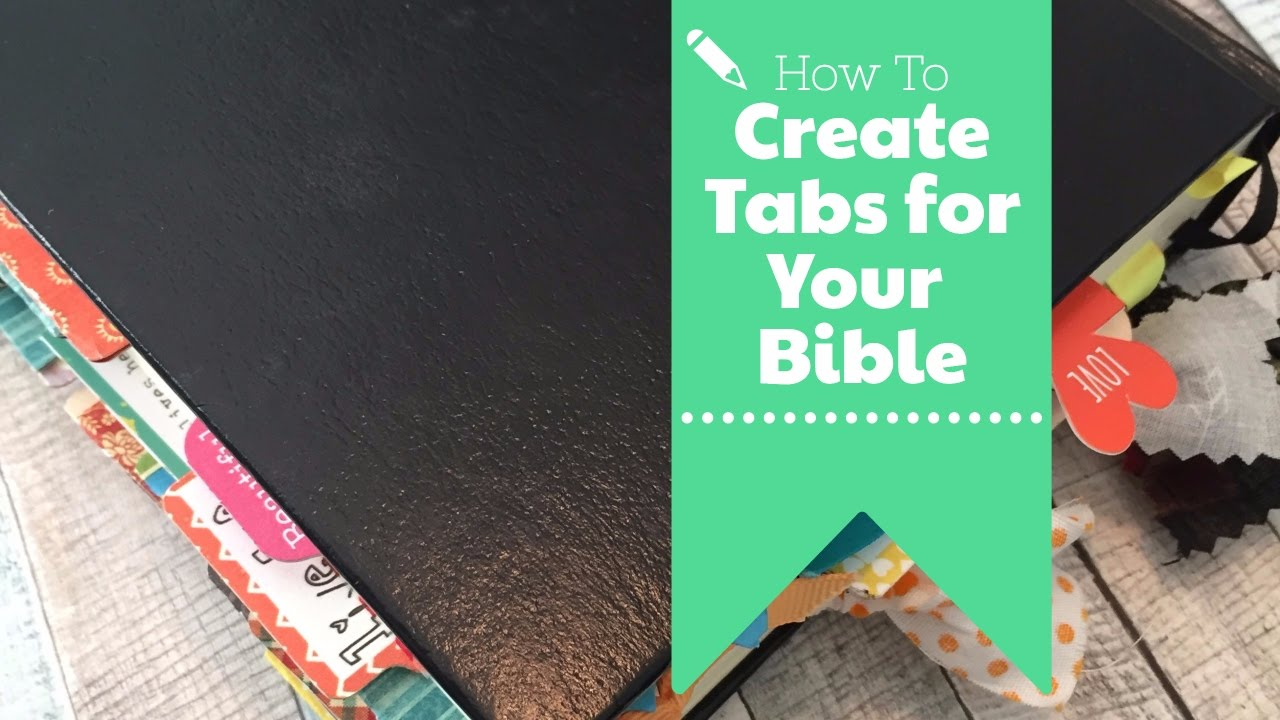 image about Printable Bible Tabs referred to as How towards Create Bible Tabs - Together with a Totally free Printable Bible Tabs