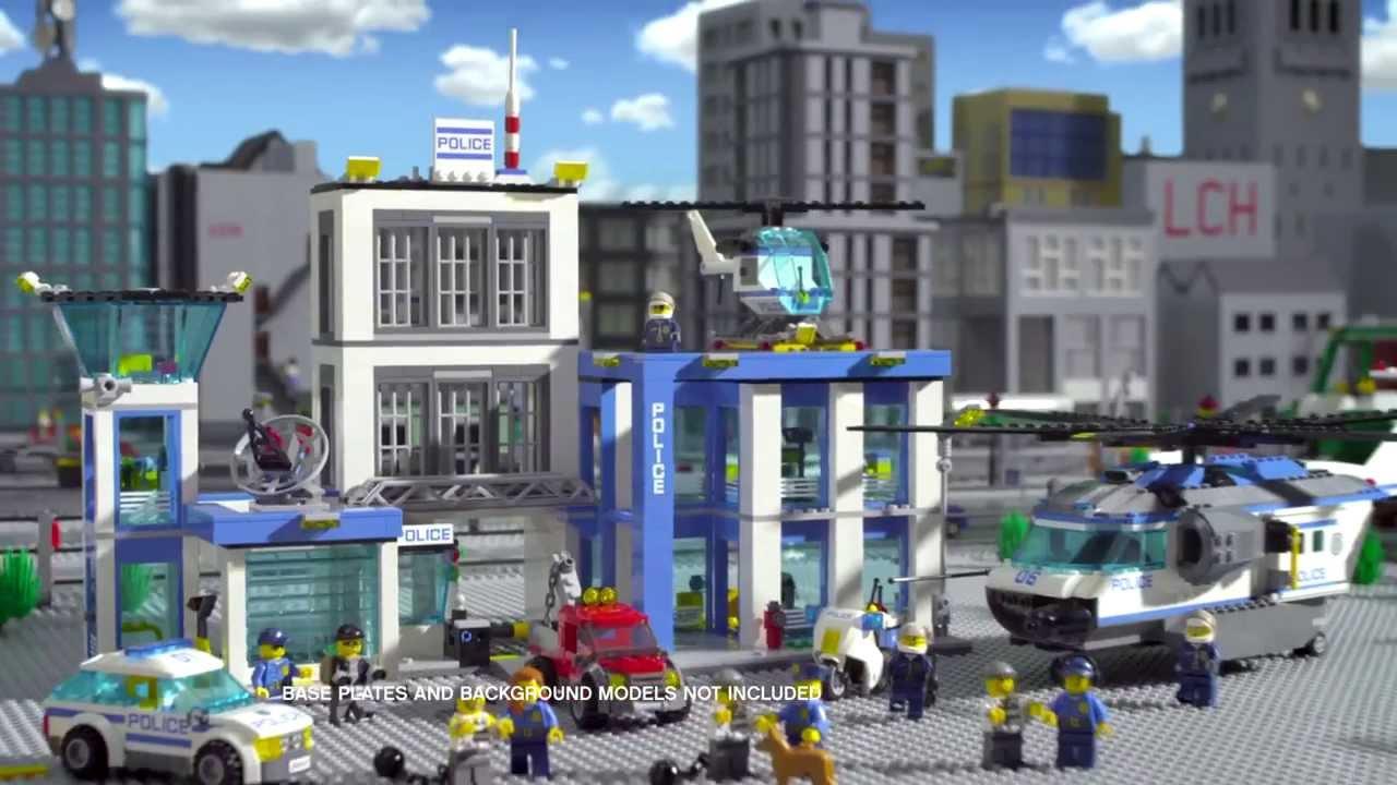 polizei truck lego