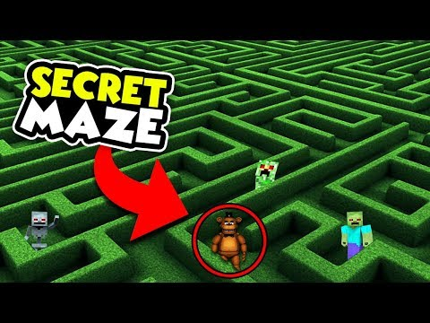 THE MOST SECURE FNAF MAZE CHALLENGE!! Baby Duck Minecraft thumbnail