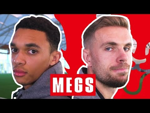 The Ball Isnt Going to Fit In That! | Trent Alexander-Arnold v Jordan Henderson | Megs | England