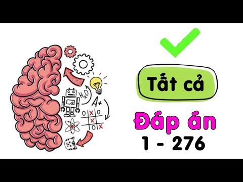 Tất cả đáp án Brain test - Đố vui mưu mẹo 1 - 276 cập nhật mới nhất