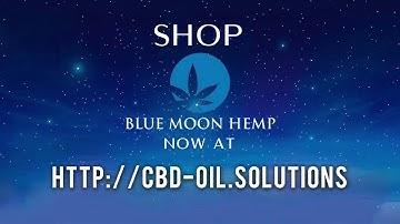 Blue Moon Hemp CBD Vape Oil now available at CBD Oil Solutions