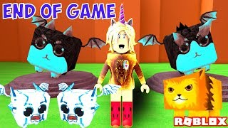 ROBLOX DRAGON SiMULATOR : WHAT'S AT THE END OF THE GAME? 🐯DRAGON WORLD 🐯 CYBER DRAGON 🐯 TURKISH 🐯 2018