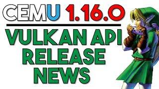 Awesome Cemu News | Vulkan Release Date Announced & Progress Report on Development