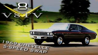 Muscle Car 5 Speed Conversion Tremec TKO Transmission Install 1969 Chevelle V8 Speed & Resto Shop