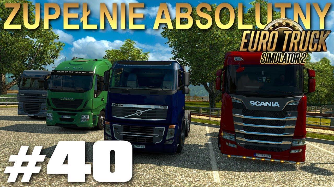 Euro Truck Simulator 2 - #40 - Mandat na czerwonym i stłuczka na wstecznym - Kiel-Duisburg