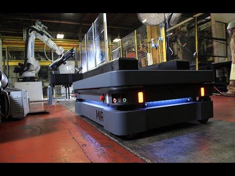 MiR500 Robot Automates Pallet Transport, Improving Quality