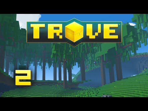 Trove: Gameplay - Episode 2 - Mining and Crafting