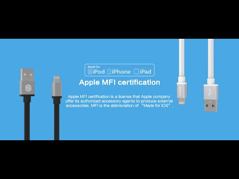 NILLKIN Gentry Cable for iPhone&iPad&iPod