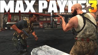 Max Payne 3 - Brutal Action Kills - Run & Gun Combat Gameplay - Vol.4 [PC RTX 2080]
