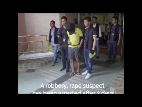 Kowloon Bay robbery, rape suspect arrested