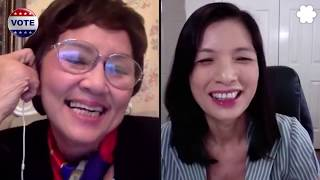 Đảng Việt Tân phỏng vấn nghệ sĩ Kim Chi lý do bỏ đảng cộng sản