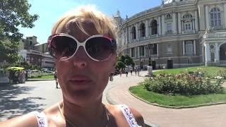 США Я ПОКАЗАЛА АМЕРИКАНСКОМУ МУЖУ ОДЕССУ ДОМ СТЕНА , ЕКАТЕРИНА (востановленное видео )