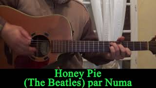 Honey Pie (The Beatles) acoustic guitar cover