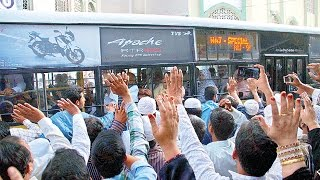 Hyderabad - First Batch of Hajj Pilgrims leave for Jeddah from Telangana State