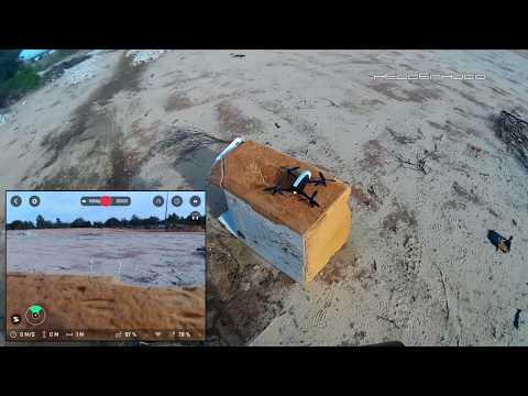 Testing Parrot Bebop 2 Drone Carbon Fiber Blade Propellers