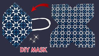 Very Easy Fabric Face Mask Diy Breathable Face Mask Easy Pattern Sewing Tutorial Mask Making Idea