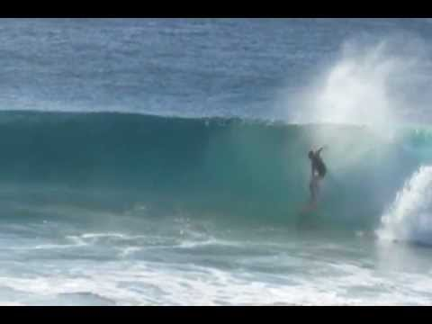 Surfing Tofo Mozambique